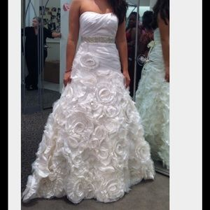 New Wedding Dress Never worn or never altered